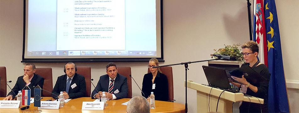 Predstavnici naše Udruge na ovogodišnjem PIN Talk-u u Zagrebu