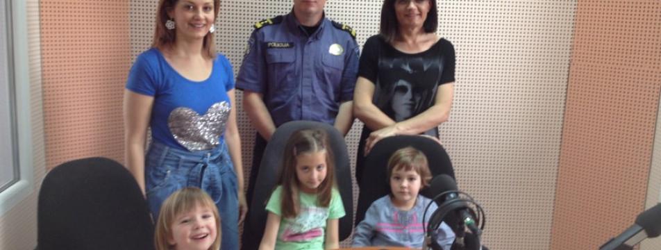 Pričalica na radio Zaboku ugostila prometnog policajca